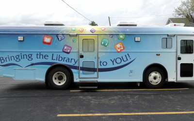 Iowa City Public Library's new bookmobile