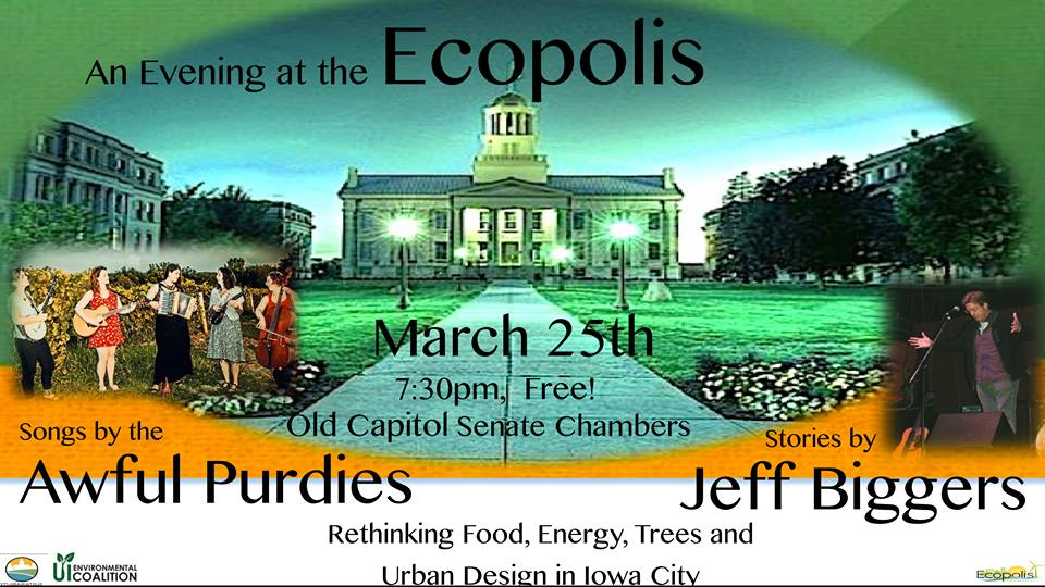 An Evening at the Ecopolis – 25 March 2015 @